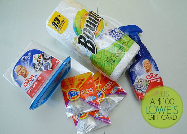 Summer Outdoor Cleaning Giveaway – Win a $100 Lowe's Gift Card & Summer Bright Gift Pack!
