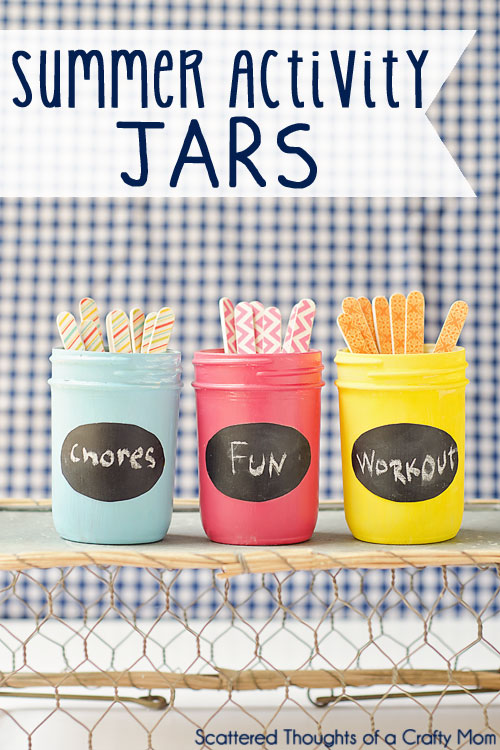 summer activity jars