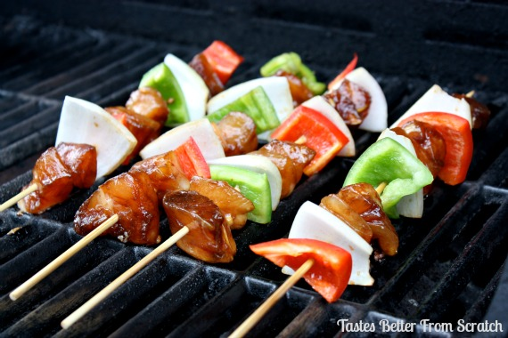 teriyaki chicken kabobs