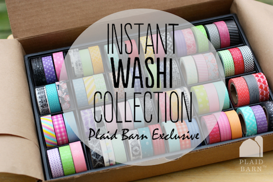Win a Washi Tape Collection from The Plaid Barn (worth $129!)