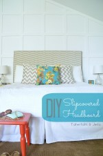 Make a Slipcovered Headboard — An Easy Way to Change Up Your Bedroom!