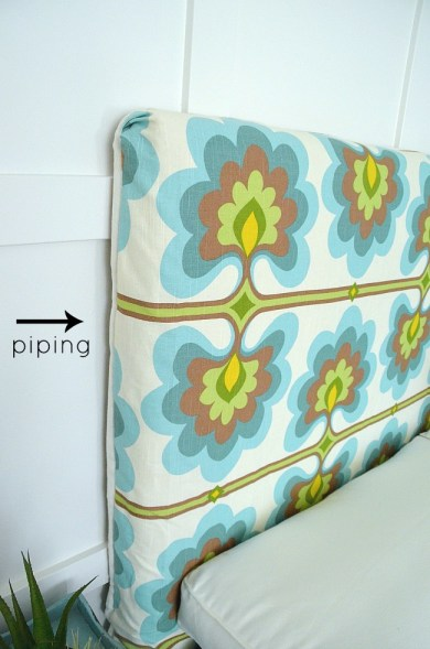slipcover with piping at tatertots and jello