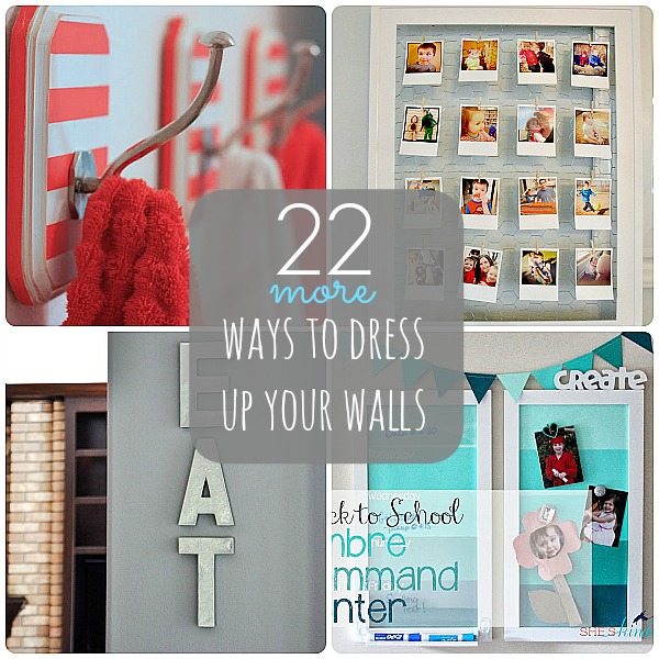 Great ideas 22 ways to dress up your walls part 2 for C meo bedroom wall dress