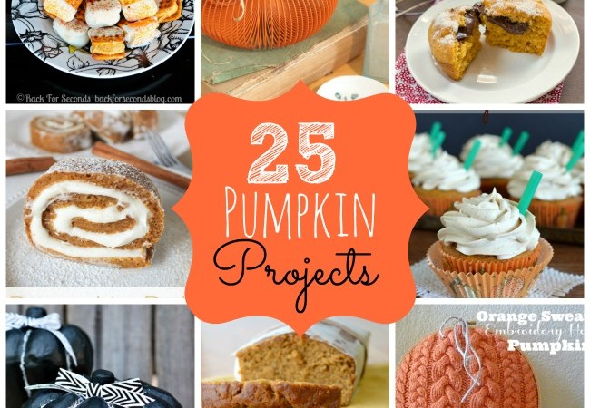 Great Ideas — 25 Fall Pumpkin Projects (Part 2)!