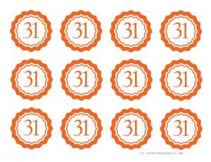 halloween-striped-rosette-medallion-centers---tatertotsandjello.com---orange