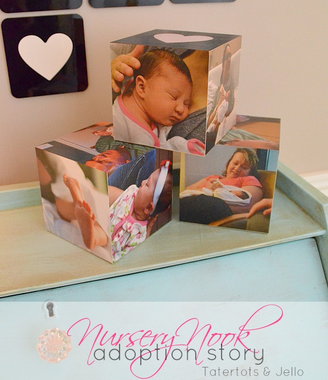 nursery nook adoption story at tatertots and jello