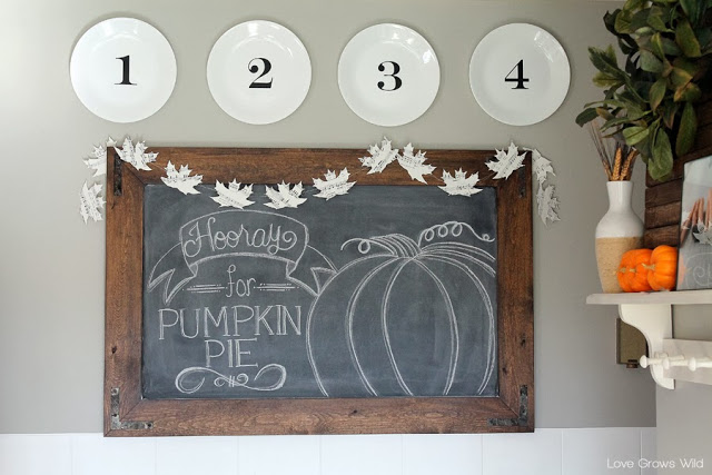 Great Ideas — 20 DIY Fall Home Ideas!