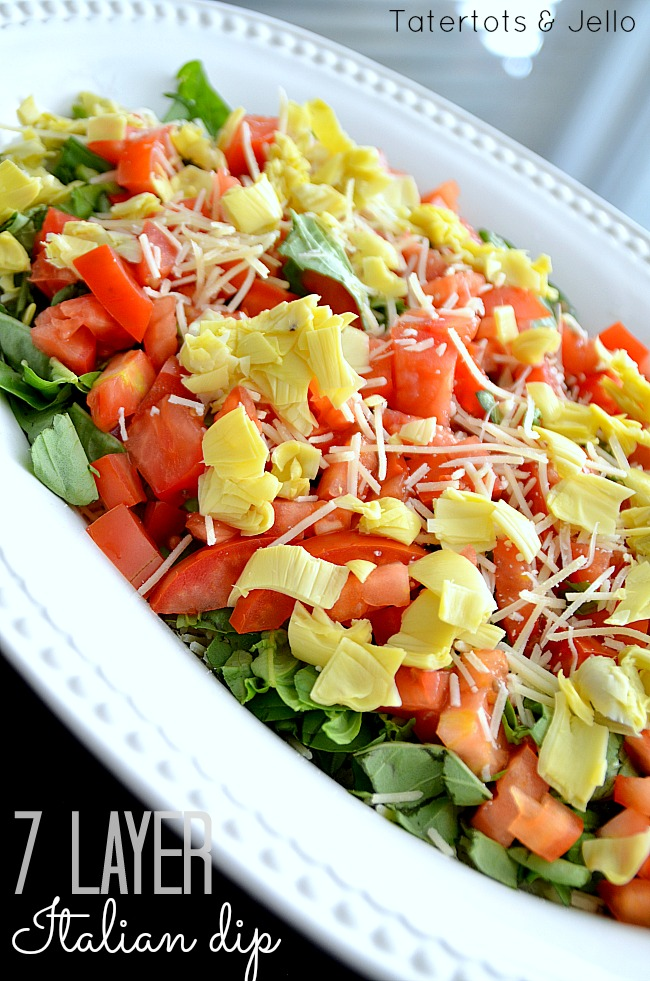 wonderful 7-layer Italian Dip