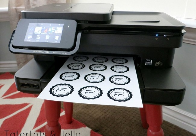 16 FREE Printables – and Win an HP Photosmart 7520 Color All-In-One Printer Pack (Over $200 value!)