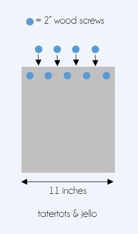 bench diagram side