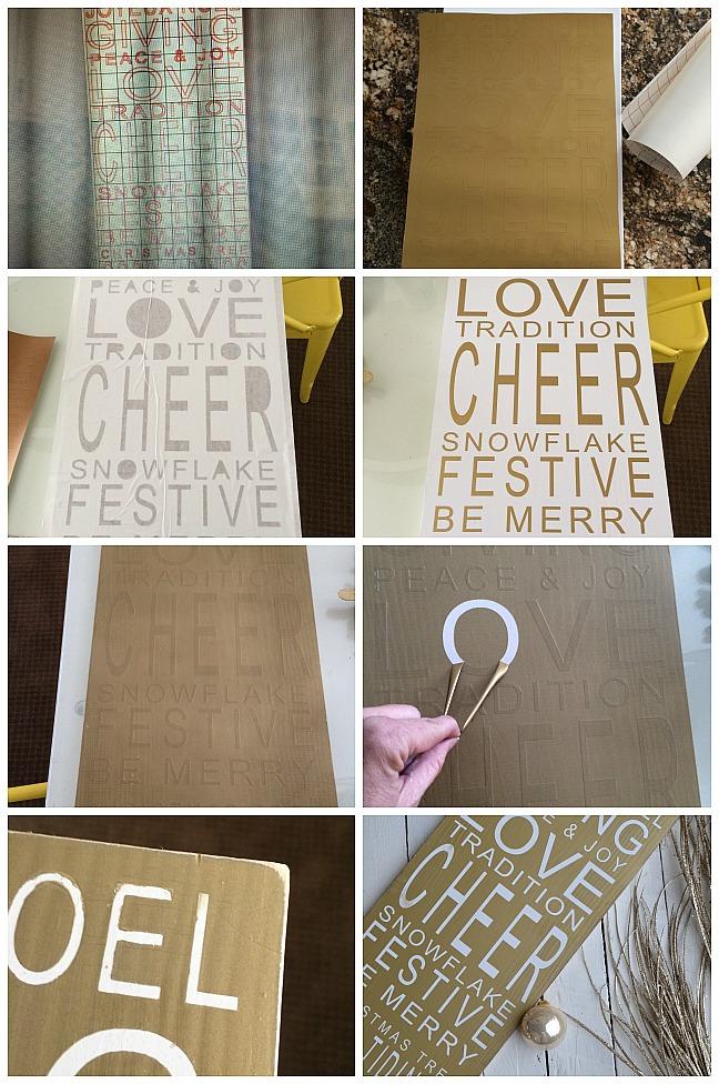 make a ballard designs christmas sign at tatertots and jello