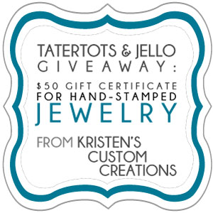 Link Party Palooza — and Kristen's Custom Creations Giveaway!