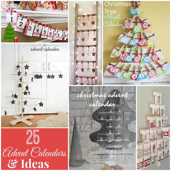 25 holiday advent calendar