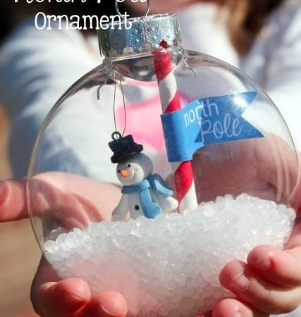 Happy Holidays: DIY North Pole Ornament