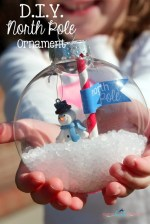 Happy Holidays: DIY North Pole Ornament
