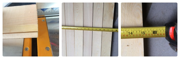 cut and measure sides