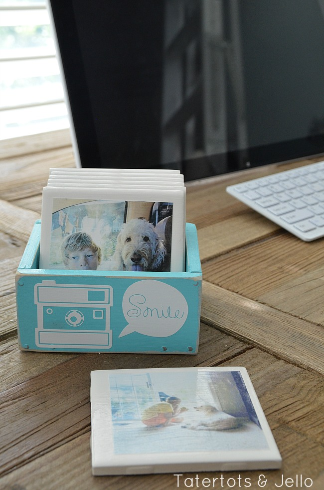 instagram coasters a diy gift idea for anyone on your list at tatertots and jello