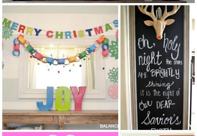 Great Ideas — 22 Happy & Joyful Holiday Ideas!