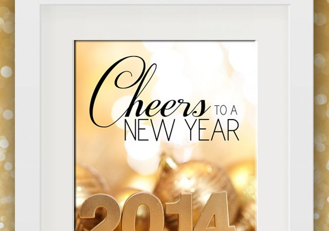 Happy Holidays: Free New Year's Printable