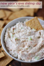 Happy Holidays: New Year's Eve Shrimp Dip
