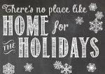 Ruler Holiday Card Display and Free Printables!