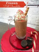Happy Holidays: Frozen Hot Chocolate