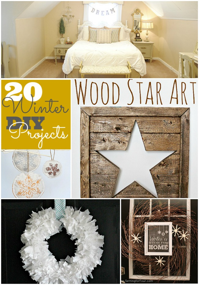 20 winter diy projects to make