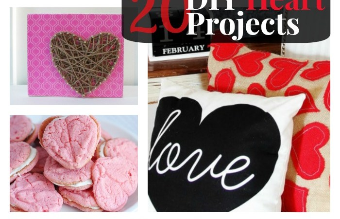 Great Ideas — 20 DIY Heart Projects!!