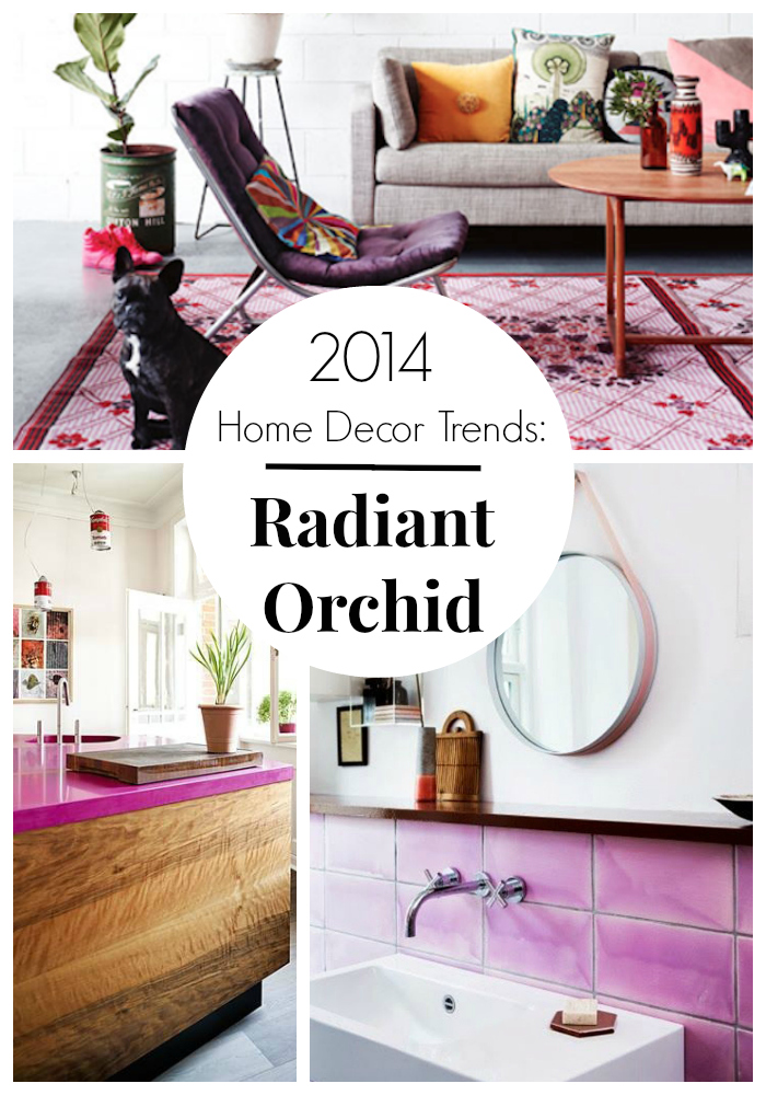 Radiant Orchid Decorating Ideas