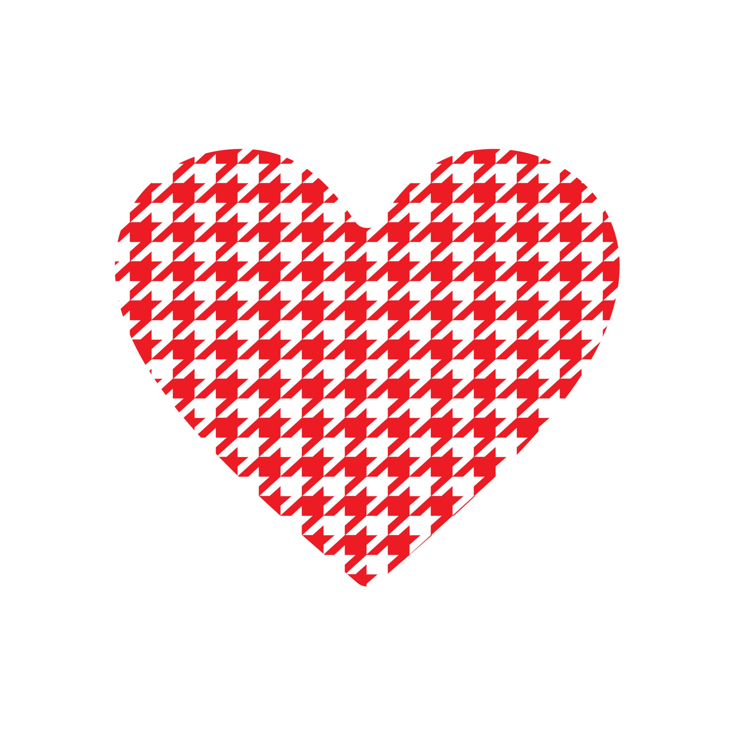 Valentine S Day Patterned Heart Printables
