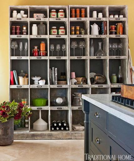 Kitchy Kitchen Decor: 2014 Home Decor Trends: Open Shelving
