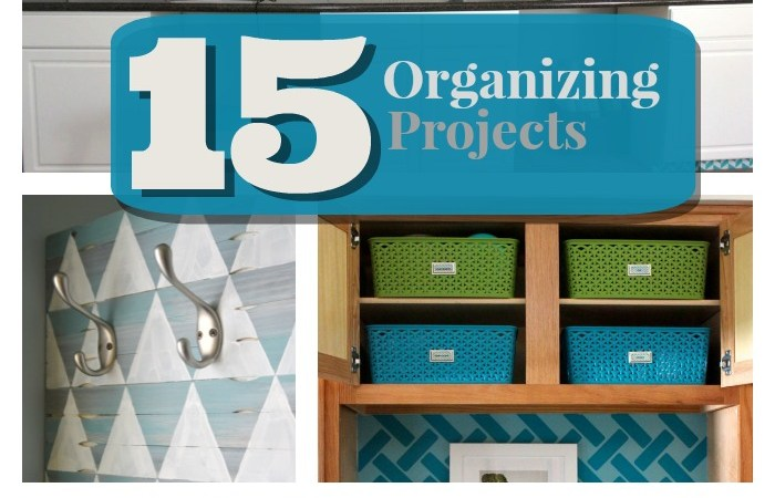 Great Ideas — 15 Organizing Projects!