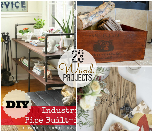 23 wood projects