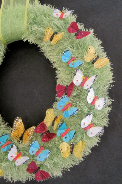 butterfly wreath