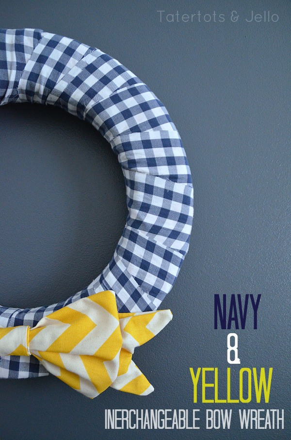 navy nautical wreath