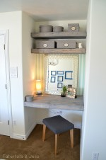 Make Floating Shelves and Desk for a Bedroom!! (#LowesCreator)