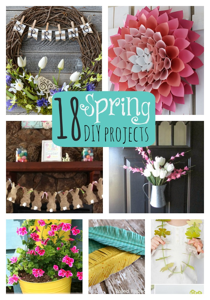 Spring Diy Projects Four Home Decor Crafts Mom It Forward Wohnkultur