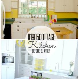 #1905Cottage Kitchen Reveal!!