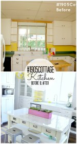 #1905Cottage Kitchen Reveal!!