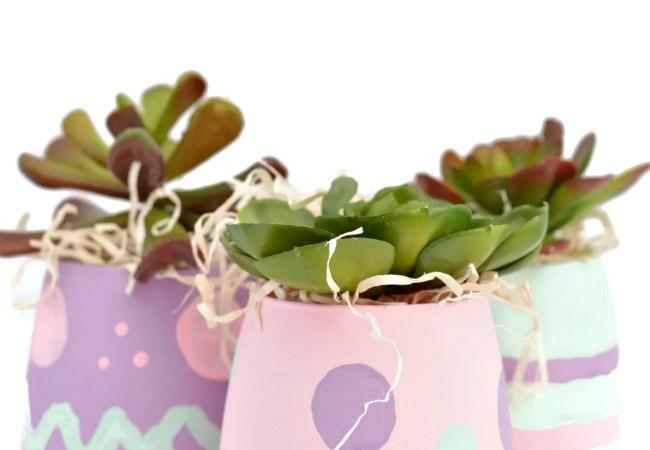 Easter Egg Inspired Vases!!