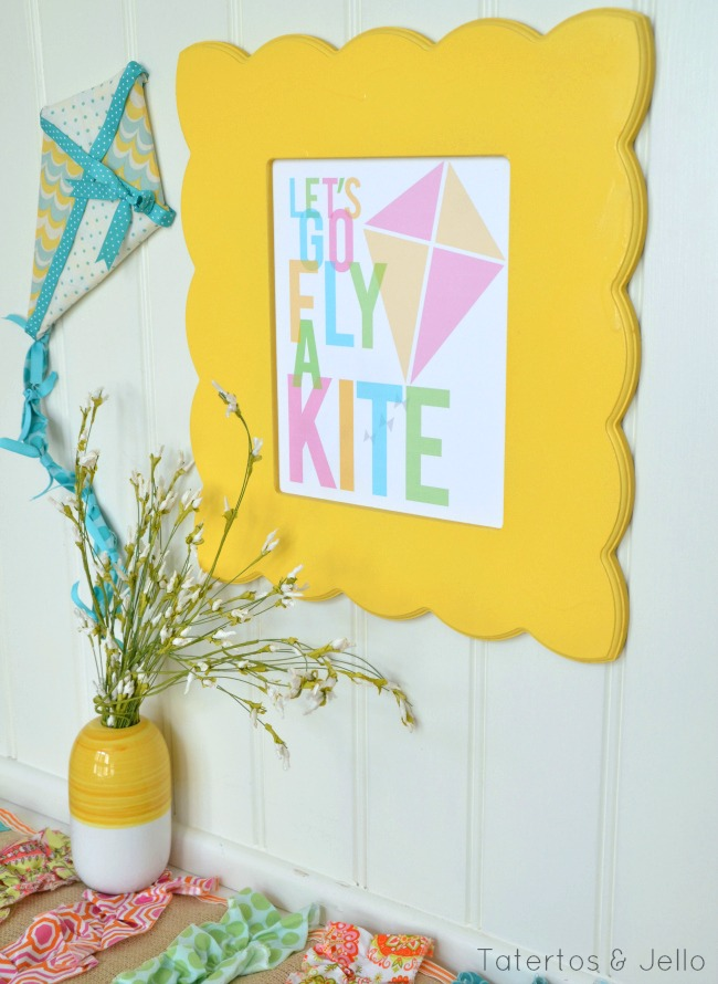 lets go fly a kite printable free images at tatertots and jello