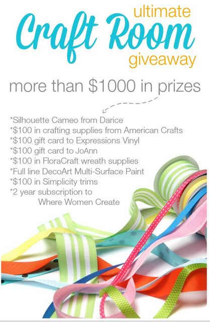 win a craft room