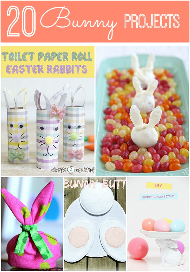 20 bunny projects easter