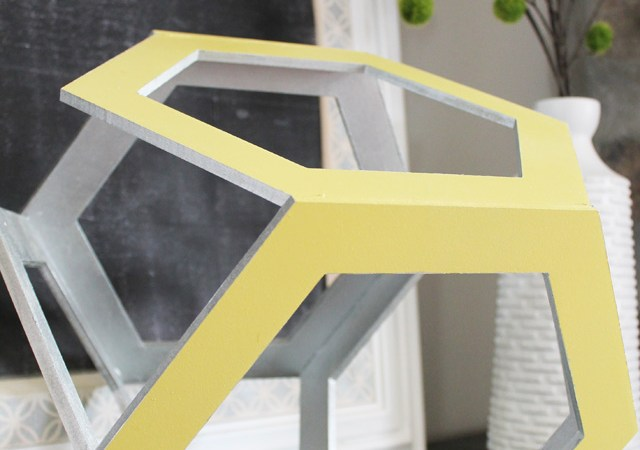 DIY Hexagon Decor!!