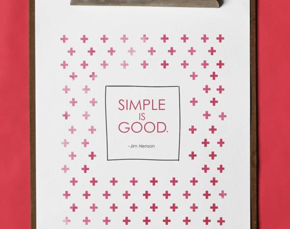 Free Spring Simplifying Printable!!