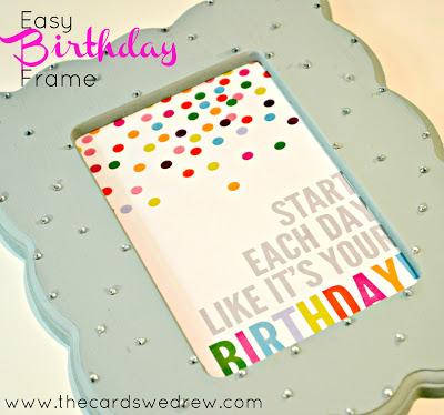 birthday+frame