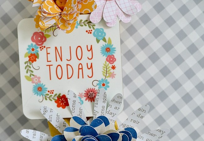 """""""Enjoy Today"""" Printables [And Spring Wreath!] #ShutterflyDecor"""