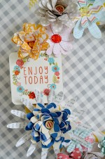 """Enjoy Today"" Printables [And Spring Wreath!] #ShutterflyDecor"