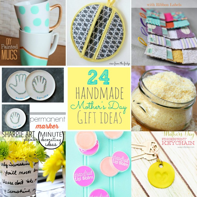 Great Ideas 24 Mother S Day Handmade Gift Ideas
