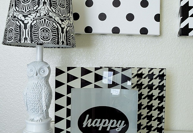 Black & White Design Trend – Free Printables! #ShutterflyDecor